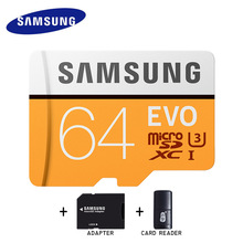 Genuine Samsung EVO micro sd card 32gb 128gb 64gb Class 10 memory card SDHC SDXC TF card microsd up to 95mb/s cartao de memoria(China)