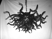 Popular black chandeliers cheap buy cheap black chandeliers cheap modern crystal chandelier led saving light source cheap price dale chihuly hand blown glass black chandelier mozeypictures Gallery
