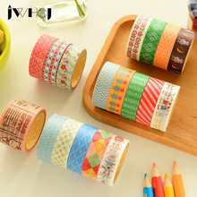 2 pcs/box Japanese style washi tape children like DIY Diary decoration masking tape stationery scrapbooking tools Free shipping(China)