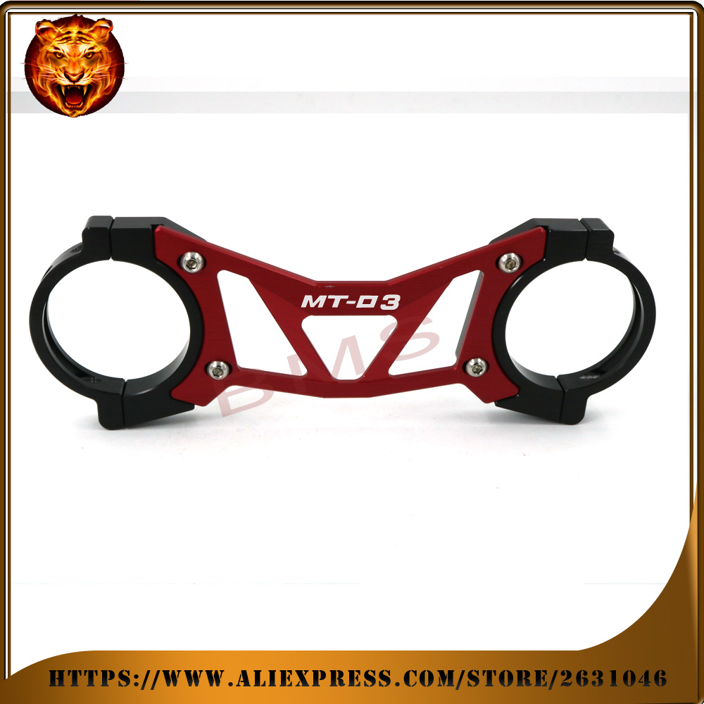 Motorcycle Accessories Aluminum BAlANCE Foreshock FRONT FORK BRACE For YAMAHA MT03 MT-03 2015 2016 free shipping bracket  NEW<br>
