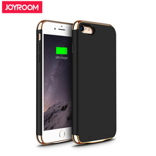 Joyroom 3.8V 2300mAh Battery Charger Cases For iPhone 7 External Battery Case Cover Backup Portable PowerBank Rechargeable Black