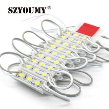 SZYOUMY 5630 3 LED Modules White / warm white Mini Type Module Waterproof IP65 DC12V Shipping Free Wholesale Ultra Bright(China)