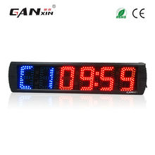 "[Ganxin]5"" Manufacturer Supply Wirless Semi-outdoor Led Gym Sports Timer Convenient and Easy to Use"