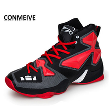 2017 High-Top Wavy Grip Wear Non-slip Breathable Outdoor Sport Shoes Athletic Galaxy Men Women Basketball Shoes  Sneakers Shoes