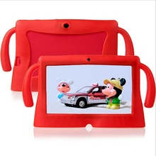 Soft Silicone Gel Cover Case for Q88 Universal for 7 Inch Cute E-Books Protective Case Cover New Tablet 7 Case For Kids Children(China)