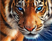 5d diy daimond painting chinese cross stitch tiger picture mosaic kit diamond embroidery crafts needlework
