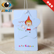 The new supply exquisite fashion tag special - shaped tag male and female children 's clothing tag general factory direct(China)