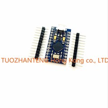 10pcs New Pro Micro for arduino ATmega32U4 5V/16MHz Module with 2 row pin header For Leonardo in stock . best quality