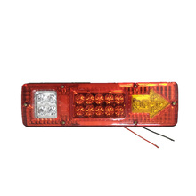 2017 New Waterproof Car Led Rear Lights 12V Truck Trailer Caravan Van Rear Tail Stop Reverse Indicator Turn Light Lamp Hot Sale(China)