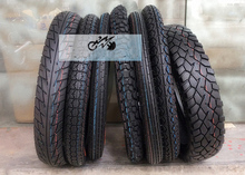2.50/2.75/ 3.00/90/90-18 110/90-16 Front Rear Motorcycle Wheel Rim Tire Tyre With Inner Tube