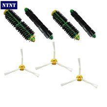 NTNT Free Post Brush 3 armed side kit Clean For iRobot Roomba 500 Series Vacuum parts(China)