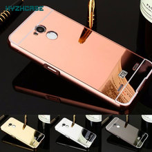 Case For ZTE Blade V7 Lite Case Luxury Rose Gold Silver Black Beauty Frame Mirror V 7 Shell Back Cover Housing New