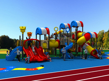 YLW amusement outdoor playground equipment for kids and families YLW-1736
