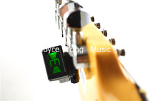 JOYO JT-306 Mini Digital Tuner Headstock Tuner For Acoustic Electric Guitar Bass Free Shipping(China)