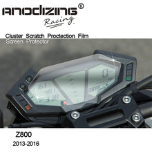 For Kawasaki Z800 2013 2014 2015 2016 ZR800  Film Screen Protector  ABS 2016 Cluster Scratch Protection