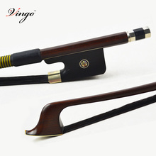 1/8 Size Natural BLACK Horse Hair FRENCH Bass Bow! Gorgeous BALANCED and Great Flexibility, Wonderful String Instrument Part!!