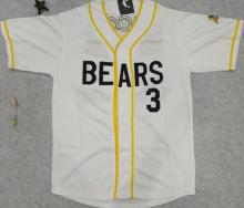 mounttop Baseball Jerseys Bad News Bears #3 Baseball Jersey Stitched Numbers Cheap Throwback top quality Movie Jerseys