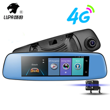 "LUPA 7.84 "" DVR HD 1080P 4G&WIFI GPS Navigation Bluetooth Rear view Mirror Car Dvr Camera ADAS Video Recorder Registrar Dash Cam"
