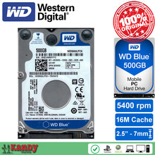 Western Digital WD Blue 500GB hdd 2.5 SATA disco duro laptop internal sabit hard disk drive interno hd notebook harddisk disque(China)