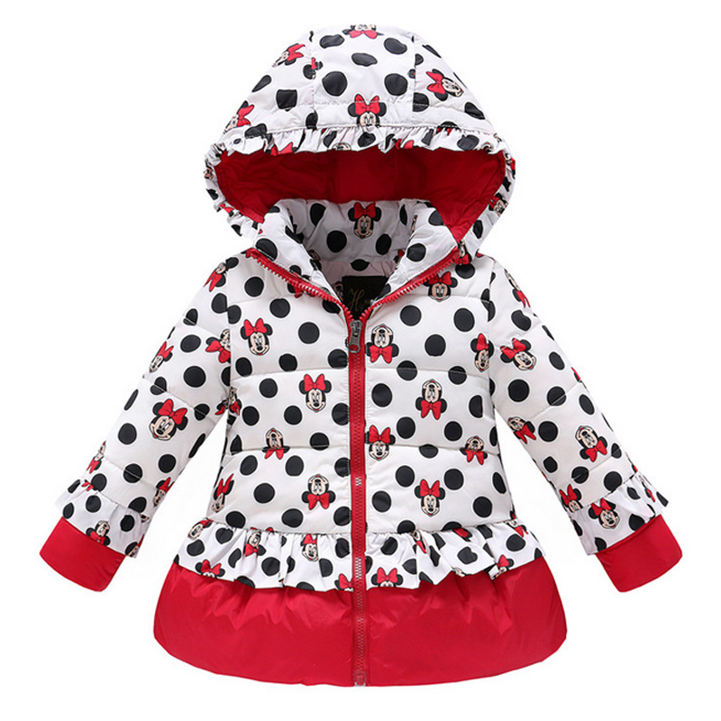 2017 New  Popular Girls White Down Baby Girls Cartoon Printed Long Sleeve Thick Down Jacket Factory Direct SupplyОдежда и ак�е��уары<br><br><br>Aliexpress