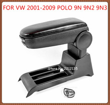 Free Shipping ARMREST FOR VOLKSWAGEN VW POLO 9N 9N2 9N3 2001-2009,Car Accessories auto parts Center Armrest Console Box Arm rest