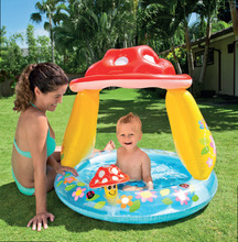 INTEX Kids Inflatable Swim Pool Funny Floats Toys Bidet Bath Tub Air Mattress Swim Rings Ring Swimming Pool Accessories(China)