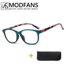 Óculos De leitura Mulheres Flores Óculos de Marcas de moda Óculos De Leitura  óculos de dioptria presbiopia Ultraleve 1 1.5 2 2.5. 8b109aa1a9