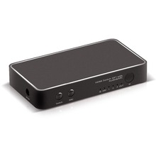 3x1 HDMI 2.0 Switch with USB Charge and HDMI Audio Extractor (SPDIF ARC and 3.5mm Stereo Audio Extract)