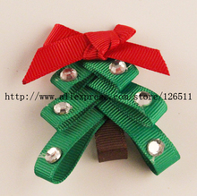 Christmas Tree Hair Clip 12PCS holiday hair accessroies