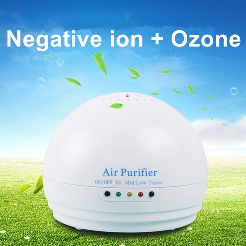 Air Purifier Car Ozone Generator Home Anion Generator Deodorizer Air Ionizer Ozone Sterilizer Disinfection Air Cleaner timer<br>