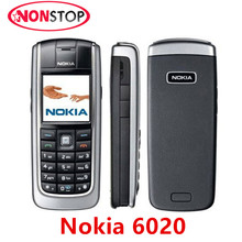 Original Unlocked Nokia 6020 GSM Mobile phone Refurbished Good CHeap Nokia Cellphone Free shipping(China)