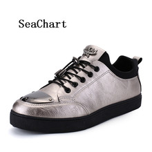 SeaChart Men's Skateboarding skateboards Men Sports Sneakers Metal Matial Shoes Toe Outdoor Hombres zapatos Uomo chaussures PARA