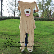 120cm Big Size USA Teddy bear skin Giant Luxury Plush Teddy Bear ,Kids Teddy bear Toys