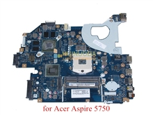 Laptop Motherboard MBRG502001 P5WE0 LA-6901P for acer aspire 5750 5750G 5755G HM65 2xSO-DIMM DDR3 GT540M GeForce