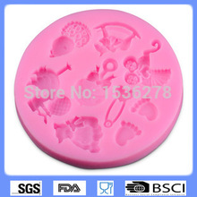 DIY Cake Decorating Animal Cartoon Images  DIY Cake Decorating Tools 3D Silicone Molded DIY Cake Decorating