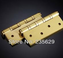 Free Shipping, 4 inches Ball bearing hinge, Low Noise Hinges,Pure Copper  Hinges, 255g/ pcs, Easy Installation, 4'' hinges