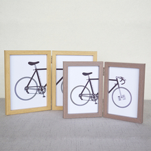 2 Folding frame Conjoined frame single face frame 5x7inch X2pieces(China)