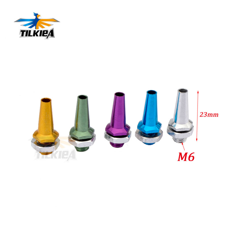 Color: Golden Antenna Mount Audio & Video Accessories Accessories 5PCS/Lot Colorful Aerial Seat Assembly Antenna Tube Sleeve with Cap+Aluminum Alloy Antenna Mount/Bracket for RC Boat/Car Models