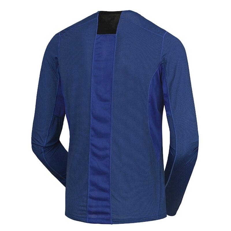 Spring Men Elastic Quick Dry T-shirt Male Outdoor Tees Long Sleeve Shirt Sport Breathable Soft Fabric Trekking Hiking Shirt4