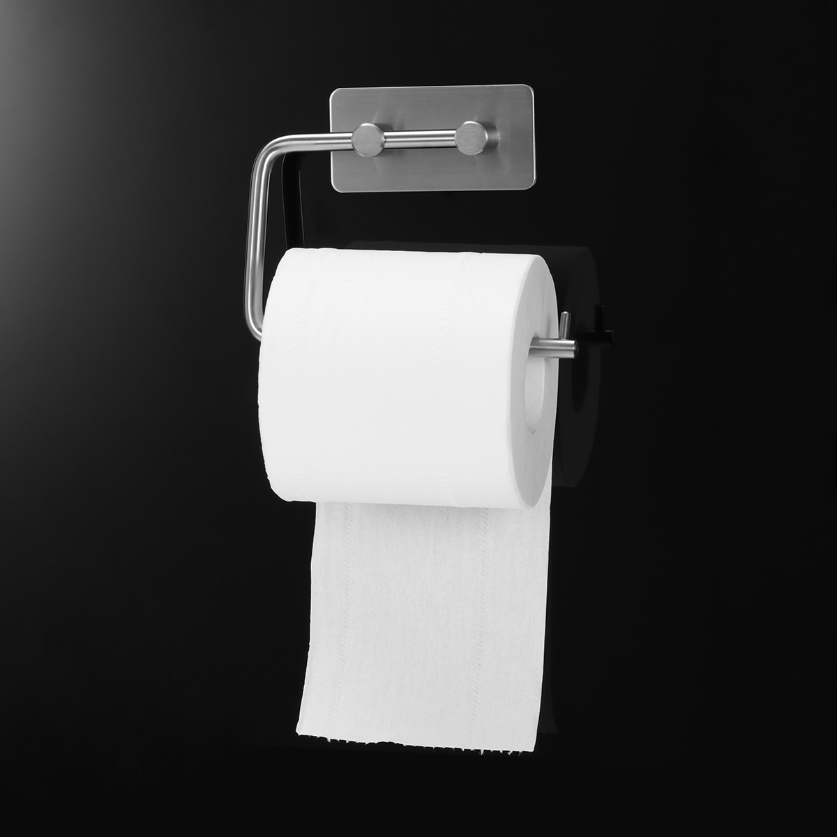 Back To Search Resultshome Improvement Bathroom Hardware Cheap Price Shamanda Sus 304 Stainless Steel Kitchen Bathroom Towel Dispenser 3m Stick Suction Cup Toilet Paper Holder Polished Finished