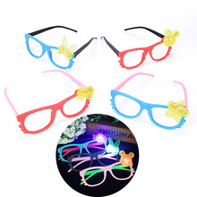 1pc Shine Beach Sunglasses Night Party Fancy Novely Holiday Party Favors Gifts Funny Glasses Gift Random Color