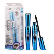 3D Fiber Lashes Rimel Mascara Makeup ink Gel Natural Fibers Waterproof Eyelash  curling/thick/lengthening/long-lasting BoB Brand