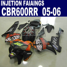 Injection molding kit for Honda Rossi Limited edition CBR600RR fairing CBR 600RR 2005 2006 05 06  fairings parts & seat cowl