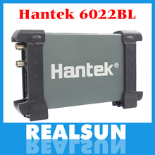 From Factory Directly free shipping Hantek 6022BL 20MHz Bandwidth USB Oscilloscope Generator 16CH Logical Analyzer(China)