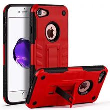 For iPhone 6 6S 7 Case Silicon PC Armor 2 in 1 Combo Defender Stand Holder Case For iPhone SE 5S 5 6 6s 7 Plus Shockproof Case