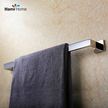 USS304 Stainless Steel Bathroom Square Towel Rail Bar Towel Racks 01-007(China)