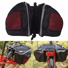 Buy Cycling Bicycle Bike Rack Back Rear Seat Tail Carrier Trunk Double Pannier Bag Bike Accessories Bike Bicycle bag for $12.73 in AliExpress store