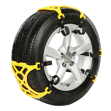 3 pcs automobile emergency snow chains universal car tyre winter roadway safety chains snow climbing mud ground anti slip(China)