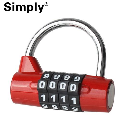 Mini 5 Letter Combination Password Code Padlock Door Lock 5 Digit Dial Combination Travel Luggage Cases Boxes Mailboxes Lock <br><br>Aliexpress