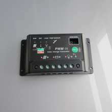 30A 12V 24V Auto intelligence Solar Cell Battery Charge Controller Regulators solar light lamps solar home system
